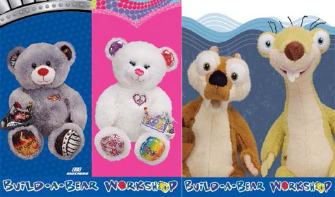 Build-A-Bear Workshop Bears