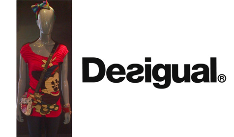 Disney products at Desigual